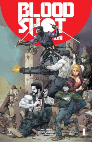 Bloodshot Salvation # 6 Issues (2017 - 2018)
