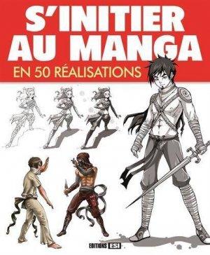 S'initier au manga en 50 réalisations édition Simple