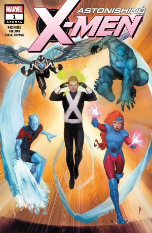 Astonishing X-Men # 1 Issues V4 - Annual (2017)