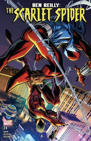Ben Reilly - Scarlet Spider # 24