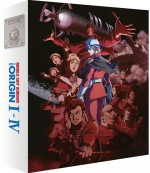 Mobile Suit Gundam - The Origin édition Blu-ray
