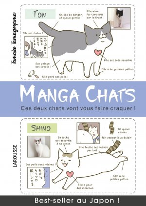 Manga chats édition Simple
