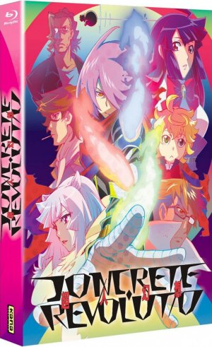 Concrete Revolutio édition Blu-ray saisons 1 & 2