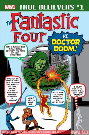 True Believers - Fantastic Four Vs. Doctor Doom édition Issue (2018)