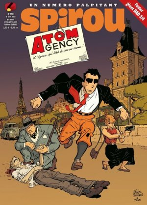 Le journal de Spirou 4192 - Atom gency