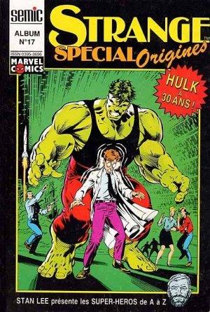 Strange Special Origines édition Reliure éditeur (1990 - 1996)