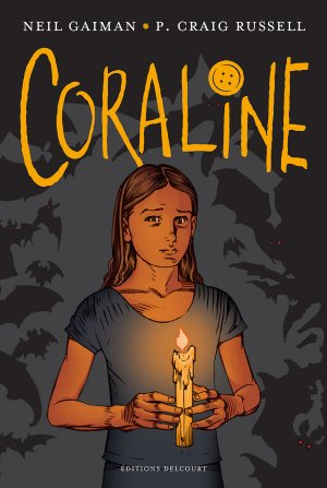 Coraline édition TPB hardcover (cartonnée)