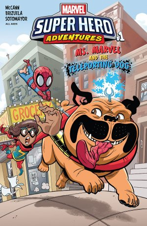 Marvel Super Hero Adventures - Ms. Marvel and the Teleporting Dog édition Issue (2018)
