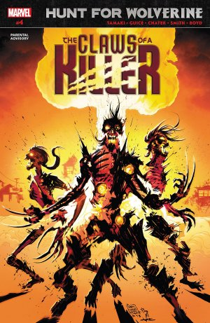 Hunt For Wolverine - Claws Of A Killer # 4