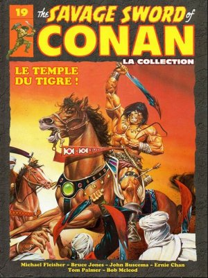 The Savage Sword of Conan 19 - Le temple du tigre !