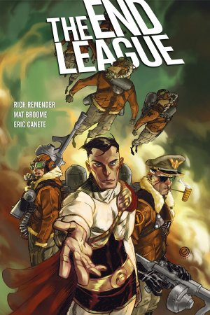 The End League édition TPB hardcover (cartonnée) - Deluxe