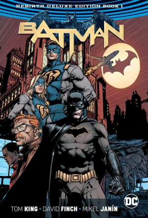 Batman Rebirth # 1 TPB hardcover (cartonnée) - Deluxe