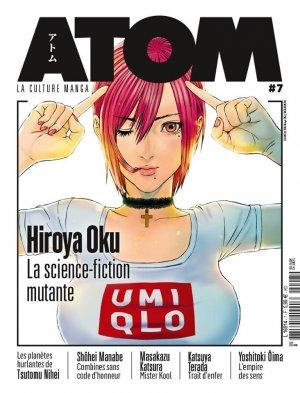 couverture, jaquette Atom 7  (Custom Publishing France)