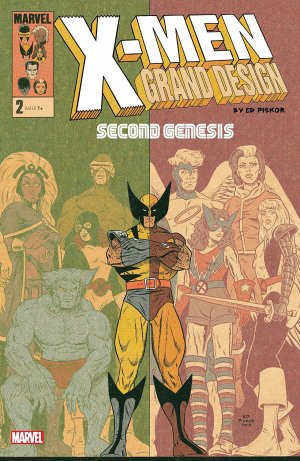 X-Men - Grand Design - Second Genesis # 2 Issues (2018)