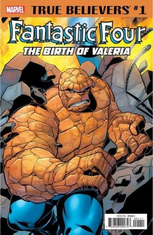 True Believers - Fantastic Four - The Birth of Valeria édition Issue (2018)