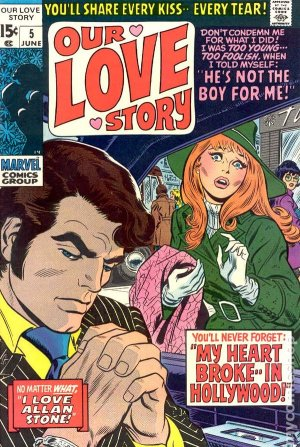 Our Love Story # 5 Issues (1969 - 1976)