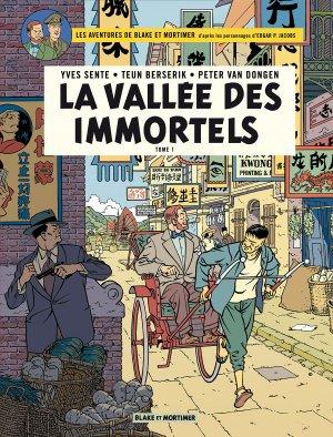 Blake et Mortimer 25 - La La vallée des immortels - Tome 1 - Menace sur Hong Kong