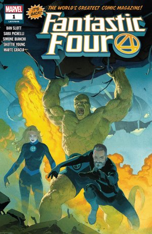 Fantastic Four édition Issues V6 (2018 - Ongoing)