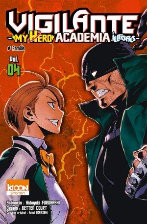 Vigilante - My Hero Academia illegals T.4