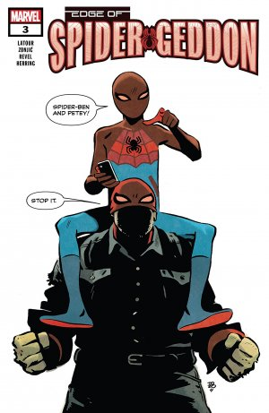 Edge of Spider-Geddon # 3 Issues (2018)