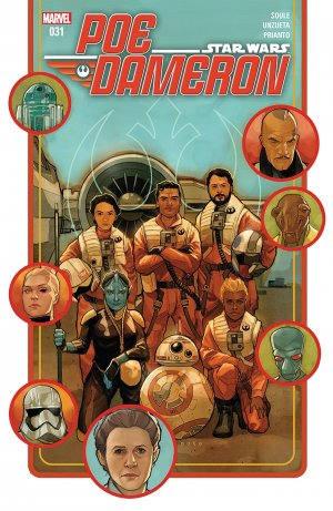 Star Wars - Poe Dameron # 31 Issues (2016 - 2018)