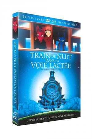 La Nuit du Galaxy Express  Combo blu-ray / dvd