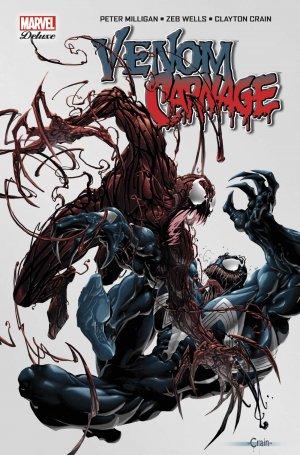 Venom Vs. Carnage  TPB Hardcover - Marvel Deluxe
