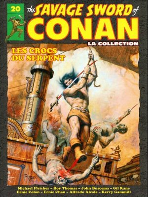 The Savage Sword of Conan # 20