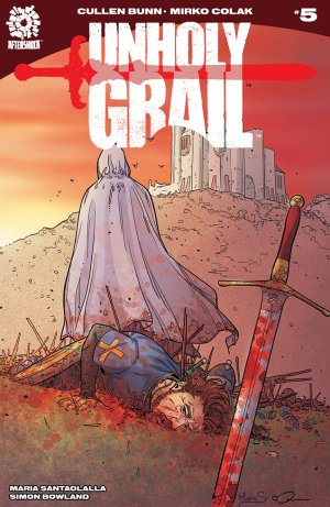 Unholy Grail # 5 Issues (2017 - Ongoing)