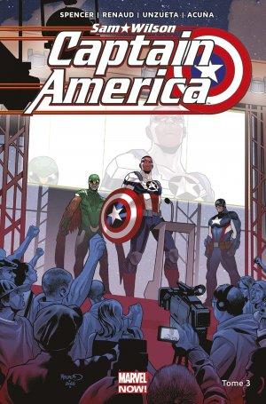 Sam Wilson - Captain America 3 TPB Hardcover - Marvel Now!