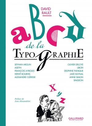 Histoire de la typographie en bande dessinée édition simple