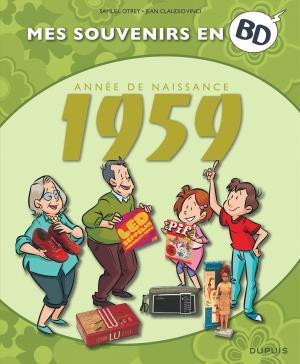 Mes souvenirs en BD 20 - Nés en 1959