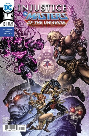 Injustice vs. He-Man and the Masters of The Universe # 3 Issues (2018)