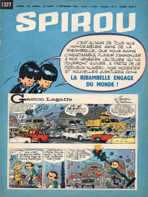 Album Spirou (recueil) # 1377
