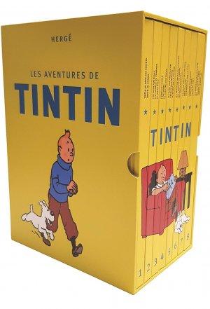 Les aventures de Tintin # 1 Coffret Intégrale 2018
