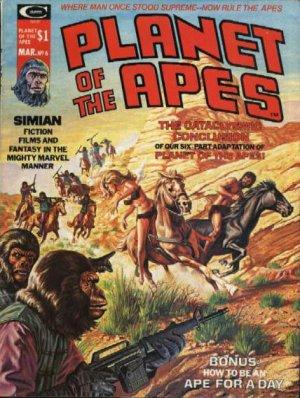La Planète des Singes # 6 Issues (1974 - 1977)