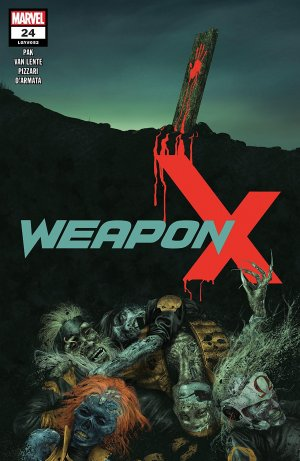 Weapon X # 24 Issues V3 (2017 - 2018)