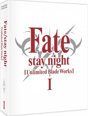 couverture, jaquette Fate/stay night  : Unlimited Blade Works 1 Collector Blu-ray (@anime)