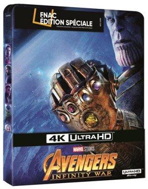 Avengers : Infinity War édition Steelbook Spécial Fnac 4K