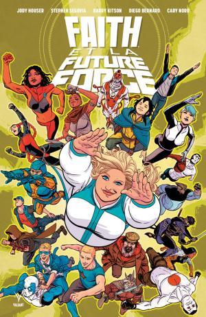 Faith et la Future Force édition TPB hardcover (cartonnée)