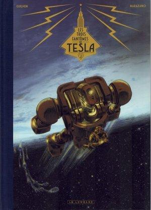 Les trois fantômes de Tesla 2 Canal BD noir & blanc