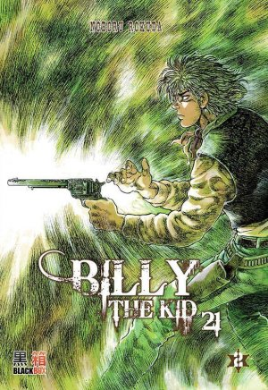 couverture, jaquette Billy the Kid 21 2  (Black box) Manga