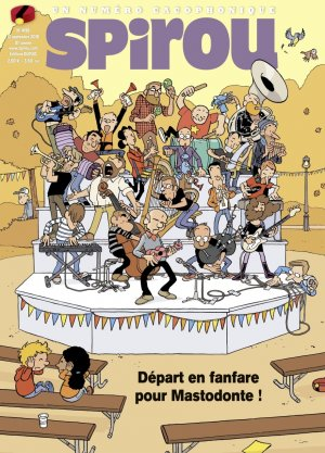 Album Spirou (recueil) 4196 Simple