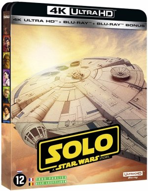 Solo : a star wars story édition Steelbook 4K