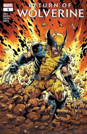 Wolverine - Le retour de Wolverine édition Issues (2018 - 2019)