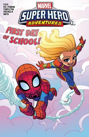 Marvel Super Hero Adventures - Captain Marvel - First Day of School édition Issue (2018)