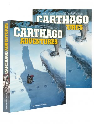 Carthago adventures édition Intégrale sous coffret 2018