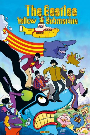 The Beatles - Yellow Submarine  TPB Hardcover - Best of Fusion Comics