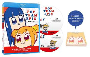 Pop Team Epic édition Blu-ray