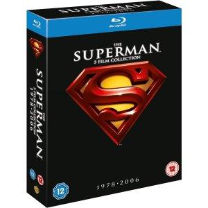Superman - L'Anthologie 1978 - 2006 édition The Superman 5-Film Collection (1978-2006)